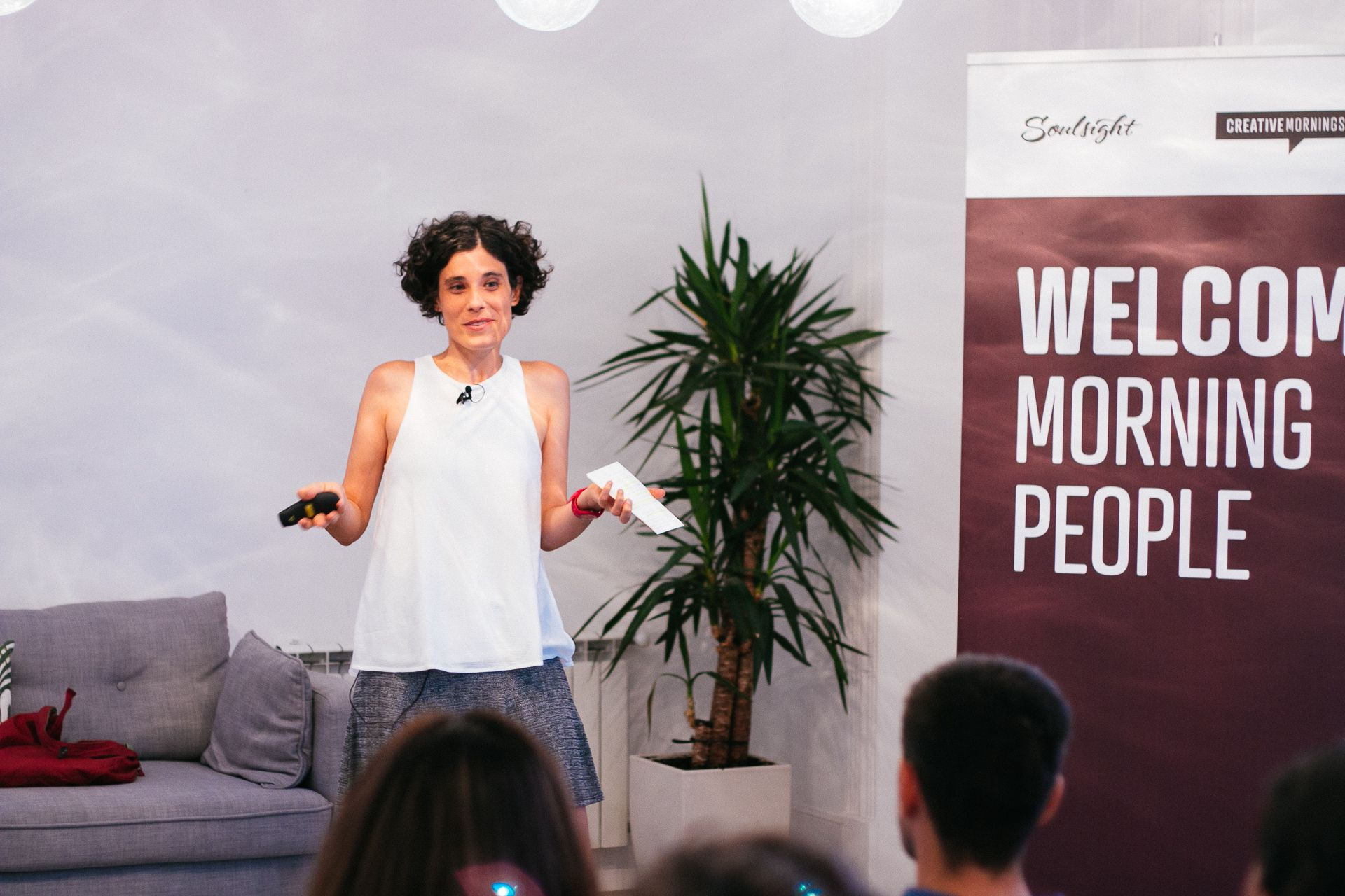 "MI CHARLA ""WEIRD"" EN CREATIVE MORNINGS"
